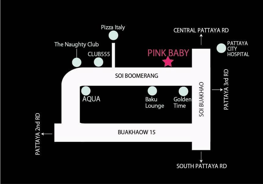 Pink Baby location